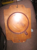 Vintage Foundry Pattern Heater cover frying pan