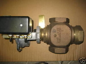 VG7000 Johnson controls brass trim globe valve actuator
