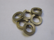 Split Lock Washer Steel heavy Duty 5/16 Lot of 6 Grade 8