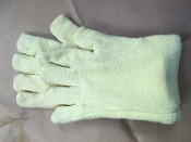 Aramid Heat Protective Glove Terry 14 inch Size Large