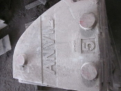 Foundry  Anvil  Mold Pattern for Metal Pouring Process