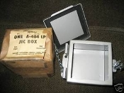 Hoffman A-404 LP JIC Box Type 12 Lift-Off Cover JIC 16 gauge *