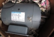 Marathon Electric Motor 5 HP 60 HZ 3510 RPM 184T