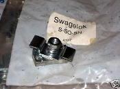 Swagelok Steel Rail Mounting Strut Nut S-SO-SN Tube Clamp