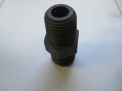 Weatherhead Straight Adapter Steel Fitting 1/4MPT x 3/8 Tube