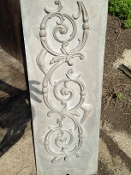 Metal Spiral pattern sand mold metal pouring art home decor