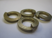Split Lock Washer 1/2 in .5 in Bag of 4 Grade 8 Steel