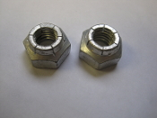 Hexagon Selflocking Nut Lot of 2