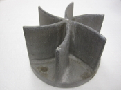 Impeller Cast Aluminum 6 Blades Marine Use Foundry Pattern