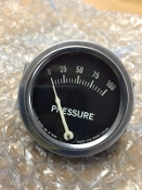 0-100 PSI Engine Oil pressure gauge Rochester 2510 *