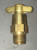 Gould 201-E 1/4 5/16 Opening Brass Drain Cock Radiator