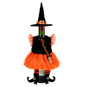 Celebrate Halloween Together Witch Wine Bottle Cover