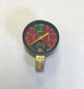 Grinnell Fire Protection 600 PSI tricolor gauge 5380