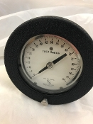 "0-100 PSI Aircraft Pressure Gauge 4-1/2"" Dial Size Ashcroft *"