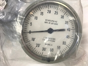 -30/+60 Compound Pressure Vacuum Gauge