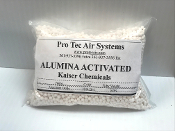 Desiccant Activated Alumina Grade A 1/8 in 2-5 MM 8 Oz Free Ship