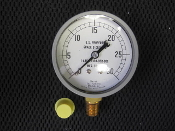 "0-30 PSI Marsh Pressure Gauge 38508 1/4"" NPT *"