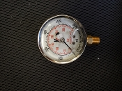 "0-5000 PSI Glycerin Filled Pressure Gauge 2-1/2"" Dial *"