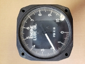 10336 Aircraft Engine Lube Oil Gauge 100 psi