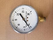 0-30 PSI Marsh Pressure Gauge Bottom Mount 6685002462364 *