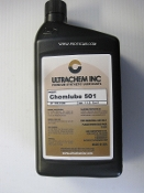 501 Chemlube Synthetic Compressor Oil  025-8649 1 Quart