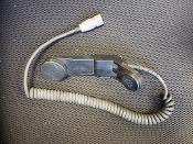 Radio Telephone Mic Handset H-250/U UNICOR HWS 1447 *